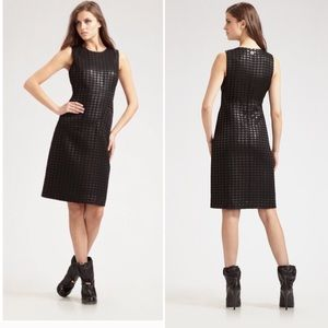 Tory Burch Fletcher Dress black tweed houndstooth
